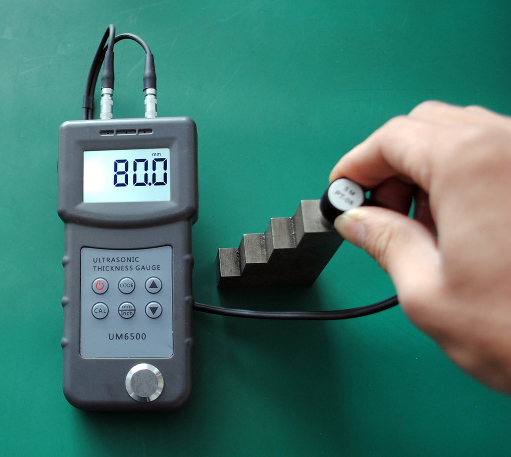 0.1mm Resolution,Glass Thickness Measure Ultrasonic Thickness ...