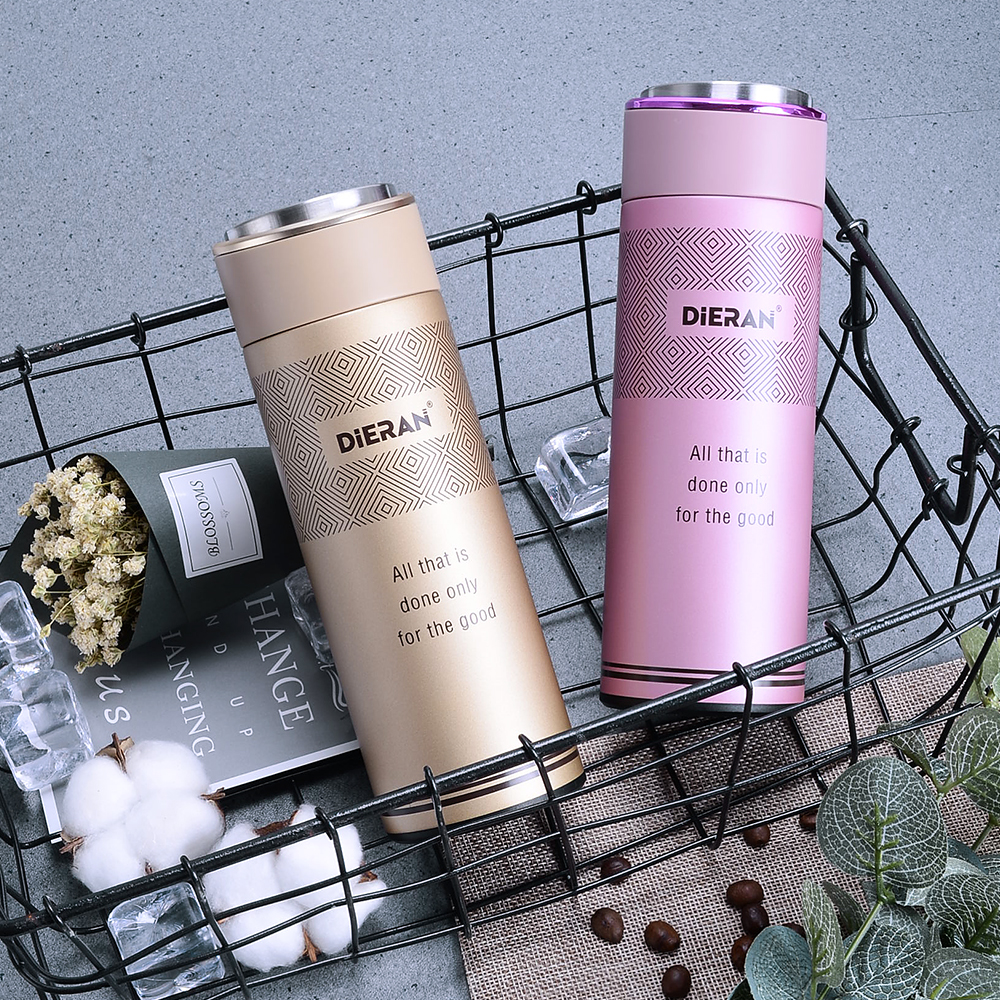 2018 Alibaba best sellers private label 16.9 oz sports stainless steel rose gold water bottle