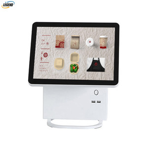 Restaurant ordering machine price touch screen terminal pos all in one