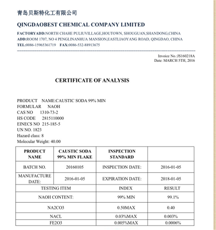 Factory supply cheap price Caustic Soda / Sodium Hydroxide / NaOH