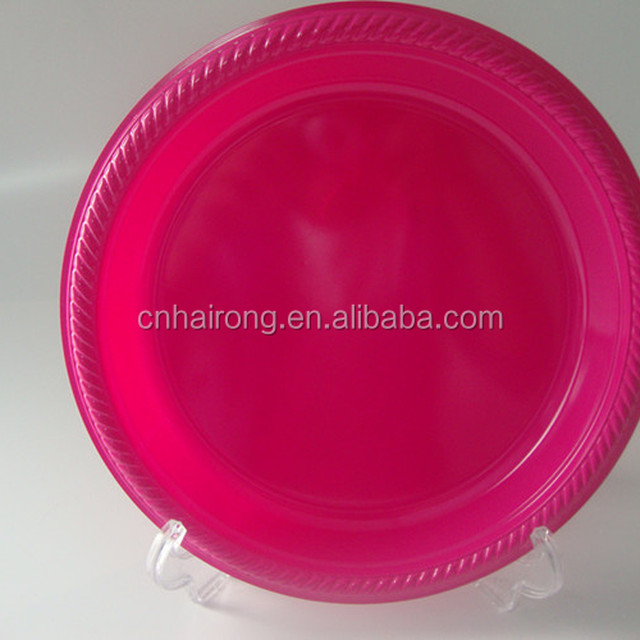 2017 new design disposable red plastic plates & China Plastic Red Plate Wholesale ?? - Alibaba