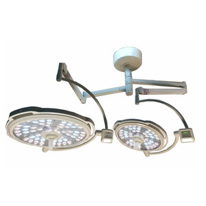 Double Head Ceiling OT Light LED Shadowless Operating Lamp for Hospital Operation Room