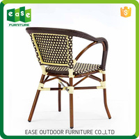 wholesale alibaba Accidentproof Non-wood Aluminum unique outdoor chairs