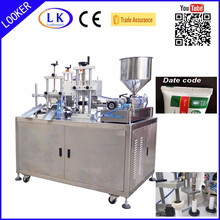 Ultrasonic Cosmetic Cream Tube Filling Sealing Machine