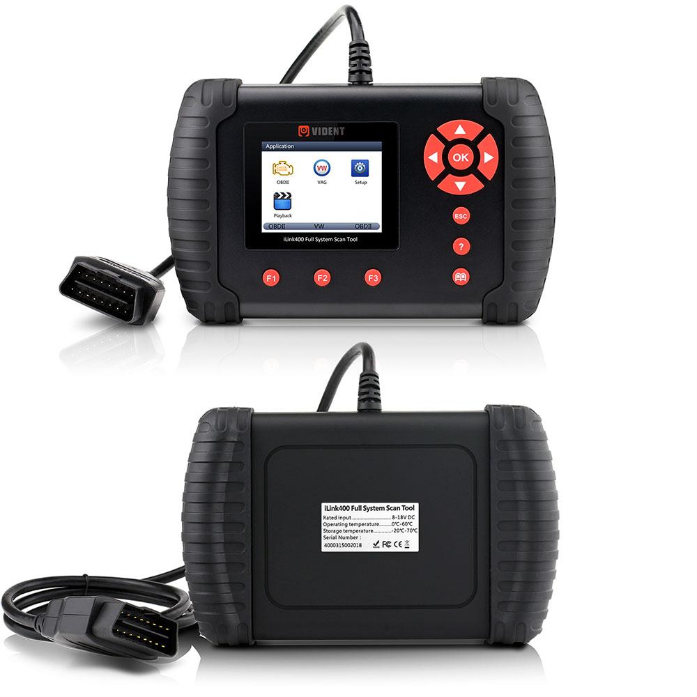 Vident ilink400 scan tool user manual auto diagnostic tool repair