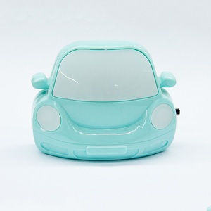 toy car green color energy saving night lamp