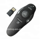 RF 2.4GHz Wireless Presenter USB Remote Control Laser Pointer for powerpoint presentations