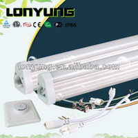 2012 hot tube ce etl saa listed T5 led tube light 1200mm1500mm 18W with 3 years warranty