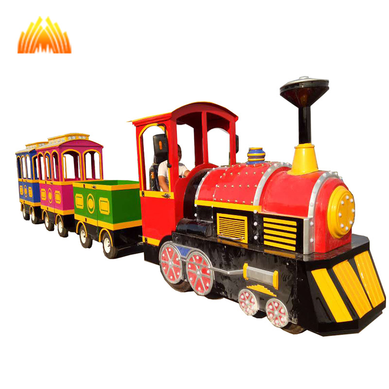 Amusements park playground kids ride electric mini road train,thomas and friends train,used trackless train for sale