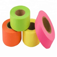 Trotoar Menandai Pita Biodegradable Flagging Tape
