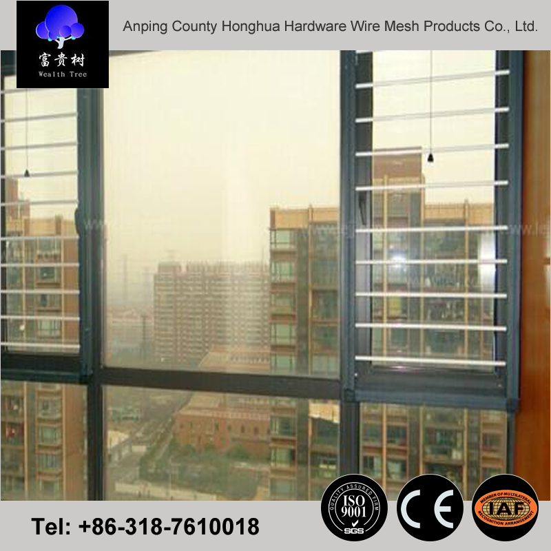 environmental invisible window screens electric window mosquito net fiberglass material for sliding windows