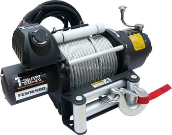 Hot T Max 16500lbs 12v 24v Electric Truck Winch For