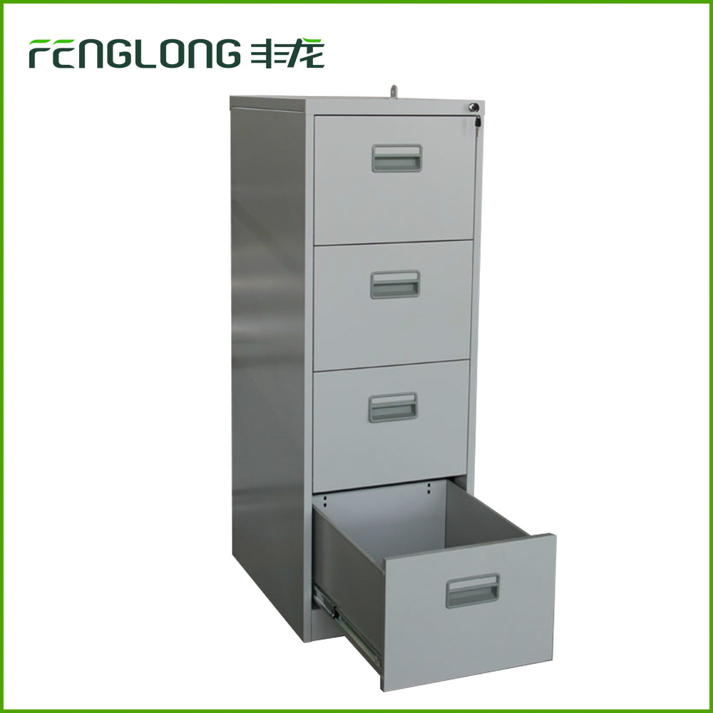 Lock Bar 4 Drawer Steel Filing Cabinet