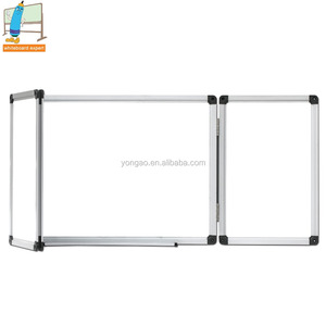 FB04 Ohsung 5 faces foldable whiteboard magnetic wall mounted