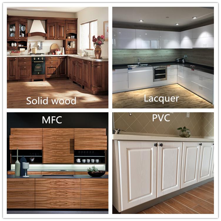 Küche renovierung hochglanz weiß lackiert moderne küche schränke für küche