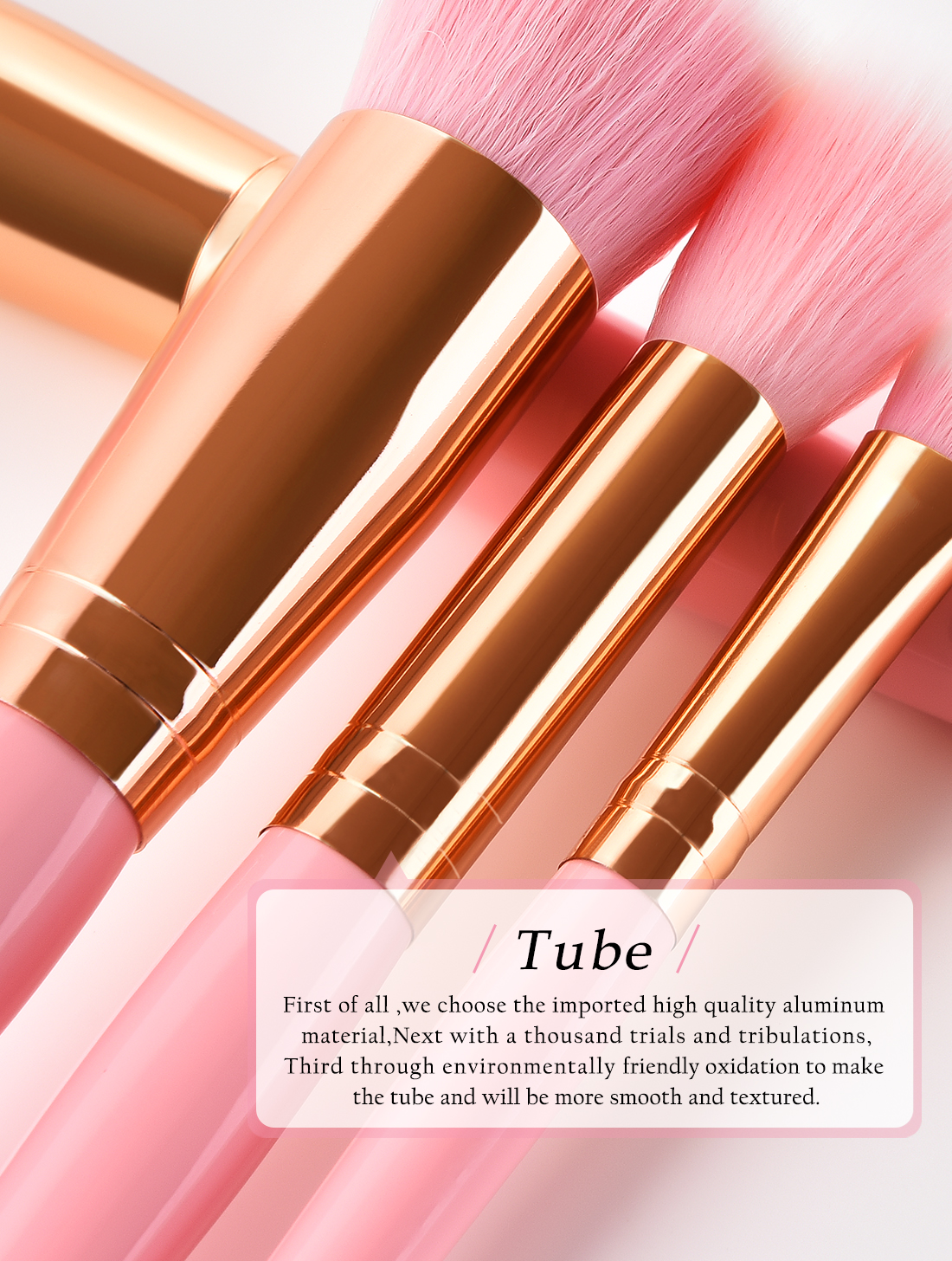 2019 Newest Private Label OEM Customized 15pcs Professional Portable Makeup Brushes Make Up Cosmetic Brushes