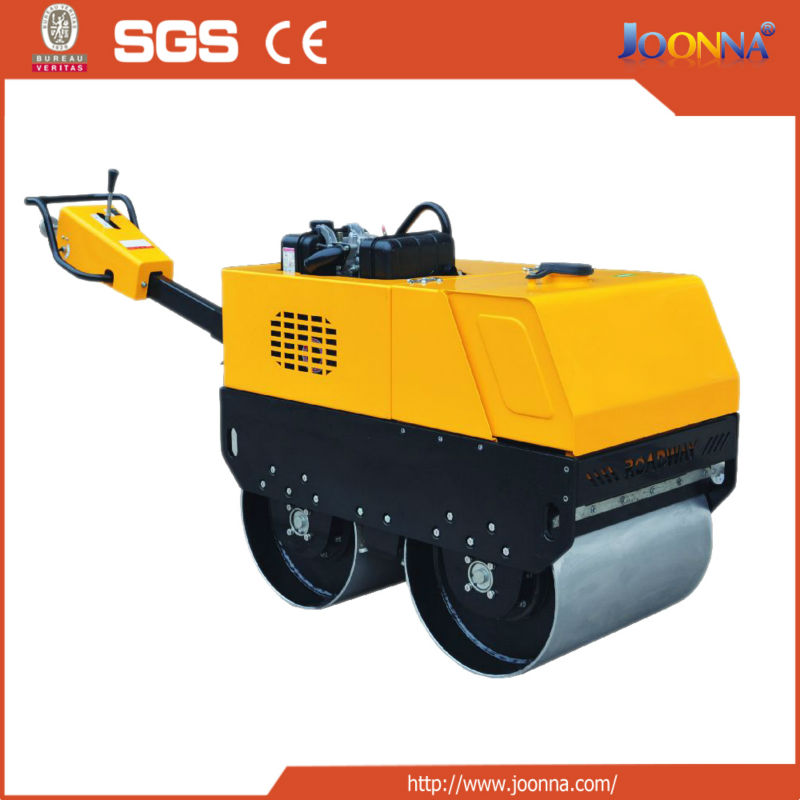 walk behind hydraulic vibrating roller