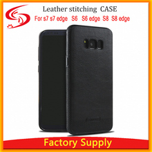 S8 S8 plus leather Phone Case Cover For Samsung S6 S6 edge Plus S7 Edge