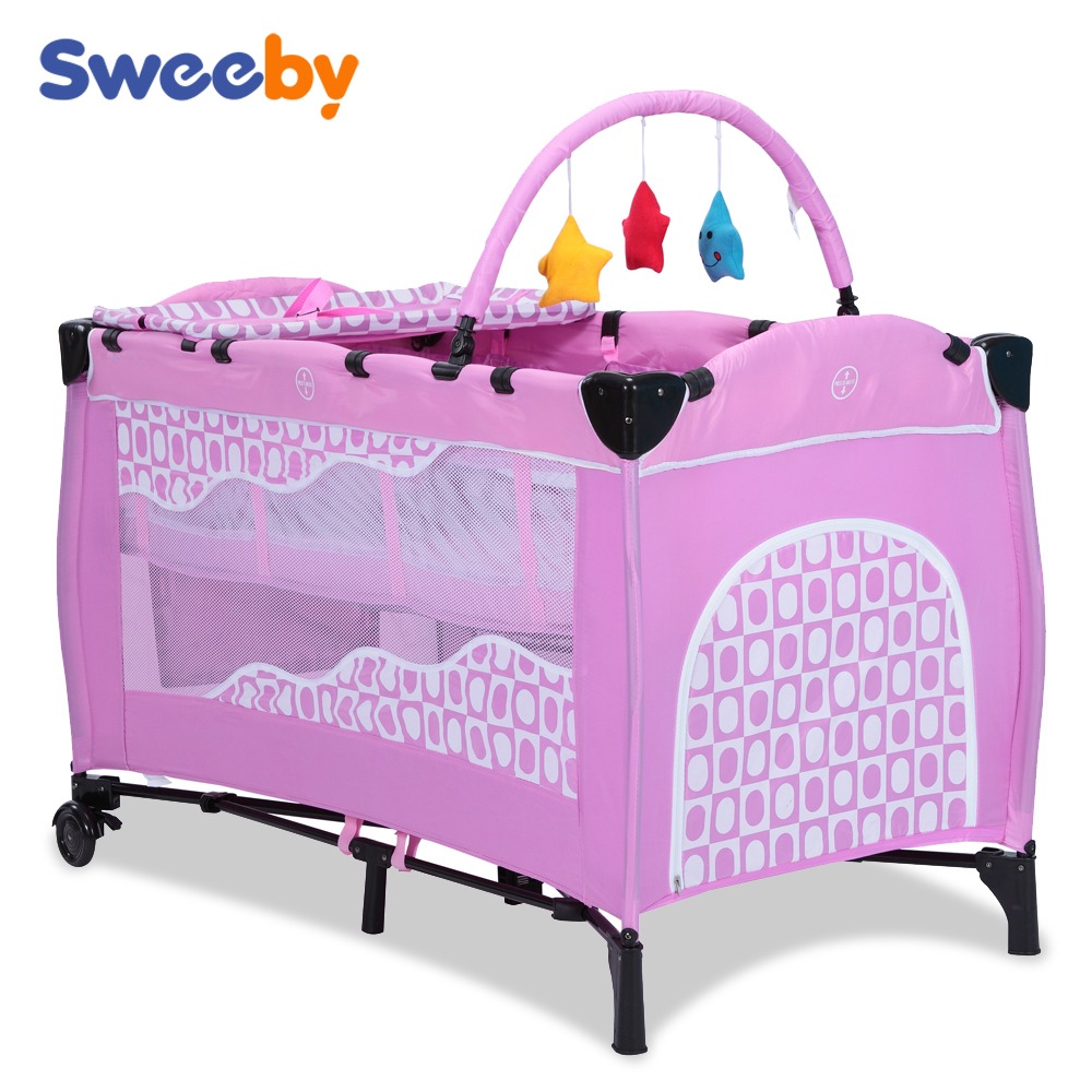 Baby cribs europe - Baby Folding Cots Baby Folding Cots Suppliers And Manufacturers At Alibaba Com