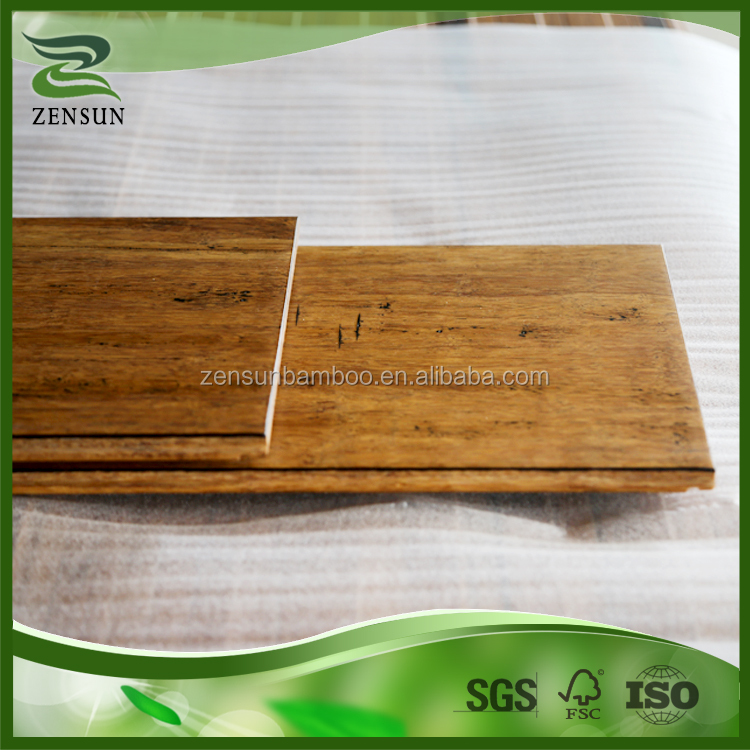 Best heat preservation performance indoor chopped bamboo flooring