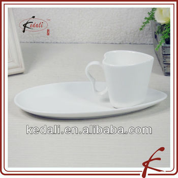 White Ceramic Coffee Mug With Biscuit Holder - Buy Mug With Biscuit ...