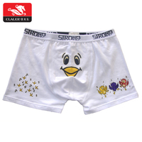 Professional high production OEM unique design customized size white cotton knit boxer shorts