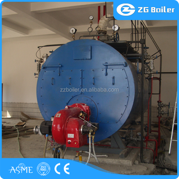 Central Reverse Flame Gas Oil Steam Boiler Channing Gas Boilers ...