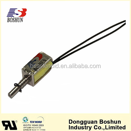 BS-0421-09 The Micro Solenoid Mini Solenoid DC5V/6V Latching Solenoid Low Voltage and Small Size