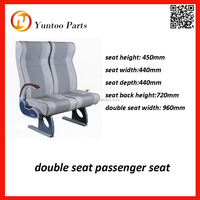 double seat passenger seat for bus, car and train