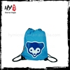 Newest nonwoven drawstring bag, cute drawstring backpack bag, folding shopping bag