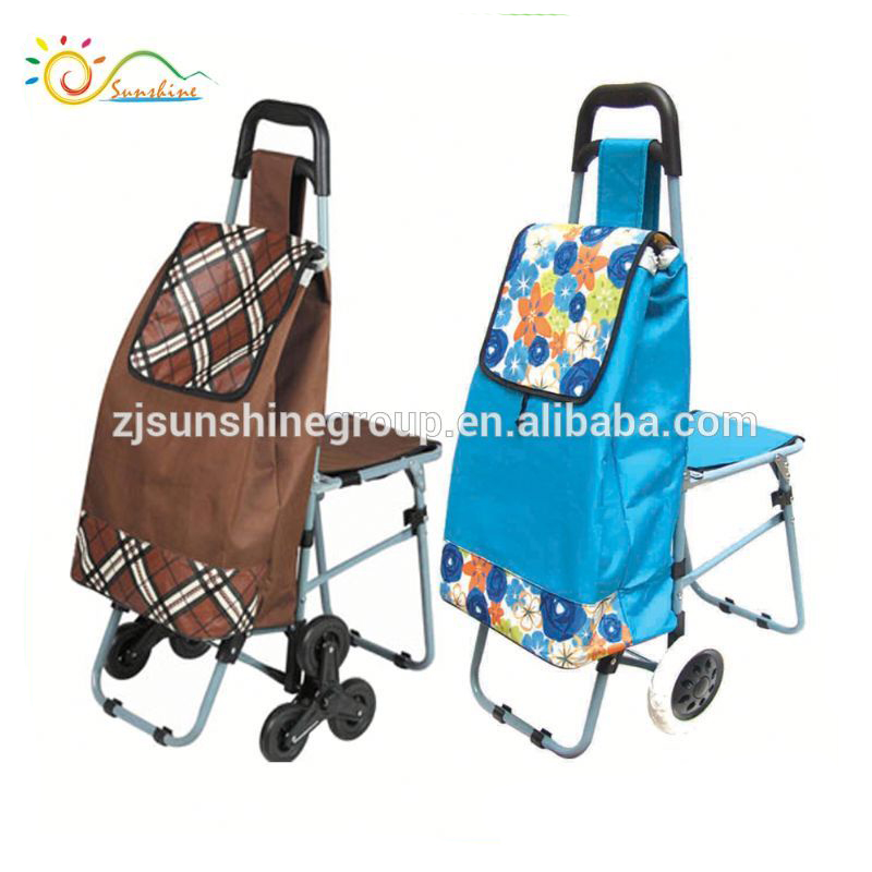 Supermarket shopping trolley shopping trolley with safe children seat and baby