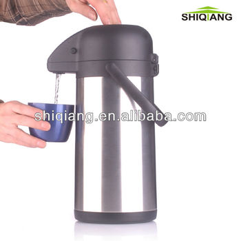 2.5l Double Wall Stainless Steel Vacuum Thermos Air ...