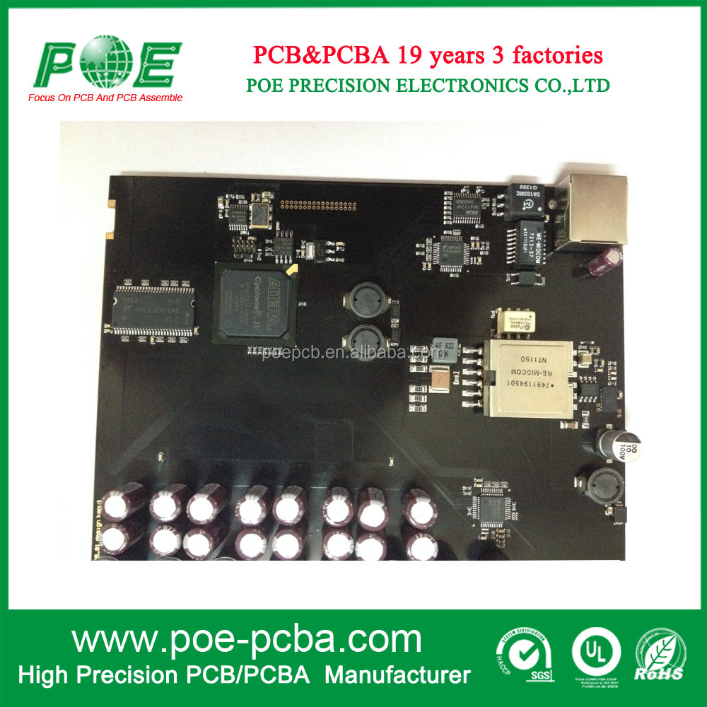 fast pcba with electronics components/ Multilayer pcba contract manufacturing