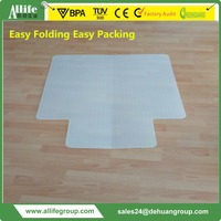 Allife Foldable Professional Under Chair Carpet Protector with CE Certificate