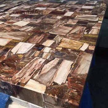 Petrified Wood Countertops Fossil Countertop Laminate Product On Alibaba