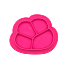 Newest Silicone Baby Placemat Bowl Easy Clean Silicone Baby Feeding Dinner Plate Wholesale
