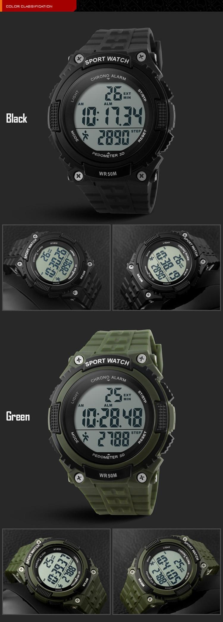c0c6c07423f SKMEI Esportes Relógios Das Mulheres Dos Homens Do Exército Militar  Assistir À Prova D  Água