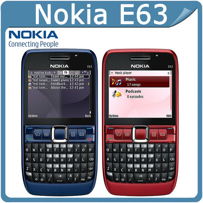 Nokia E63 Blue Brand New Genui...