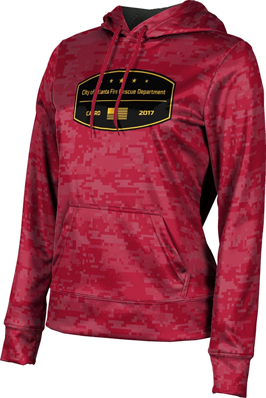 ProSphere Girls' City Of Atlanta Fire Rescue Department Fire Department Digital Hoodie Sweatshirt