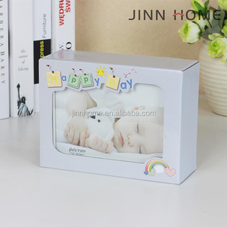 Neugeborenen Baby Ton Handabdruck & Footprint Folding Holz ...