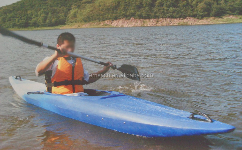 Portable Whitewater Plastic Canoe Kayak, Competitive Price Plastic Canoe