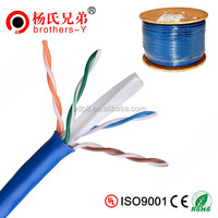 Blue 305M Ethernet Cat 6 Cable ATM 155Mbps Networking