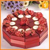 Wedding cake paper box making with beautiful printing box