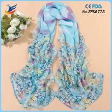 Barato al por mayor de moda vietnam bufandas de seda para las mujeres