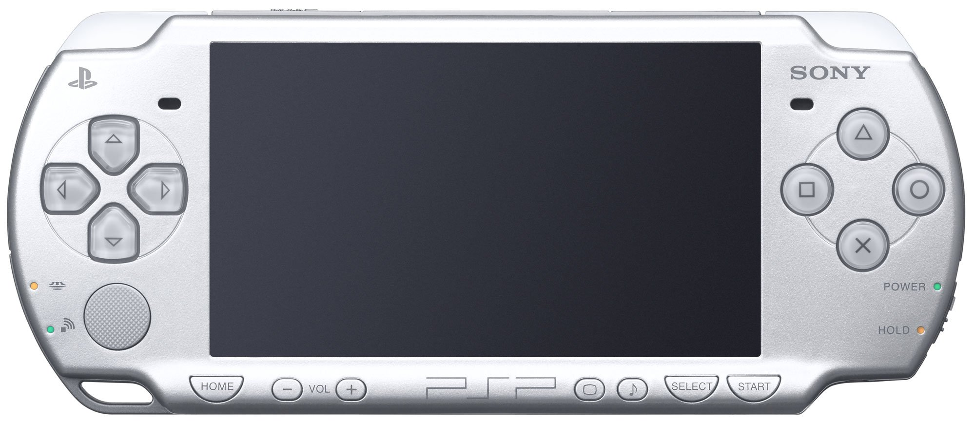Sony PSP Slim & Lite - Handheld game console - ice silver