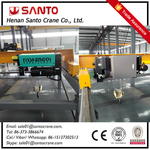 Hot Sell Euro-style wireless remote control overhead crane China Supplier