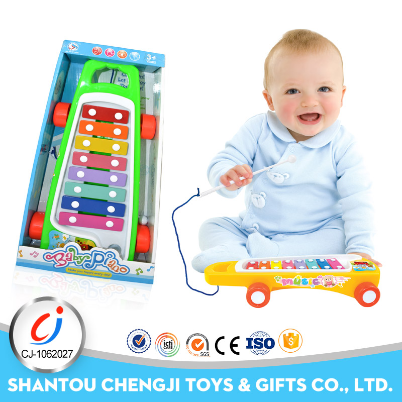 Eco-Friendly material children musical toy xylophone professional