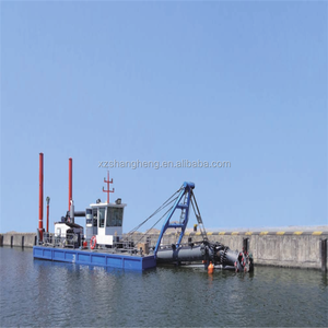 Engine 8 feet New Hydraulic Cutter Suction Dredger Sale