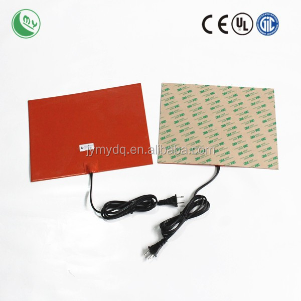 silicone rubber heating pad and sheet heating element oven resistance