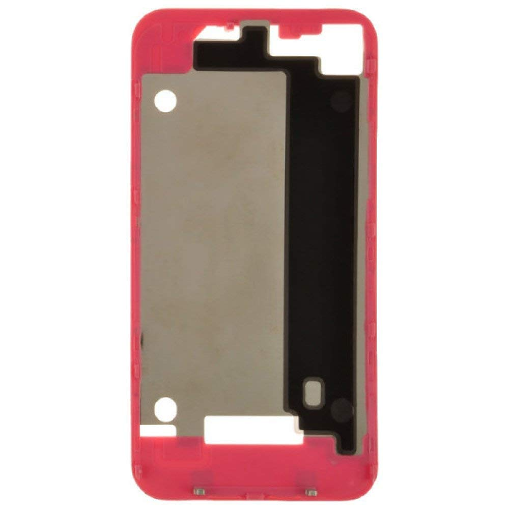 Door Frame for Apple iPhone 4 (GSM) (Pink) with Glue Card